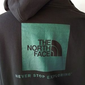 North Face Black Pullover Hoodie